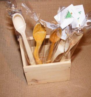 Drewniane łyżki